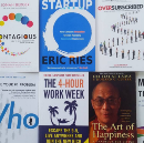 Books for founders at each stage of a startup