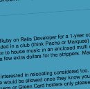 """Tech recruiter posts sexist ad for Ruby Dev, uses excuse """"It's because I'm not a programmer"""""""