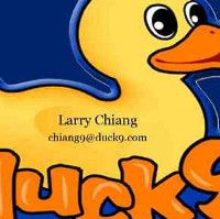 CEO of Duck9, Larry
