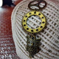 Steampunk Necklace Diary