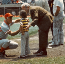 I met Sparky Anderson at Wrigley.
