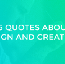 15 quotes about design and creativity