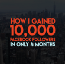 How I Gained 10,000 Facebook Followers in Only 4 Months