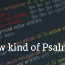 A New Kind of Psalm