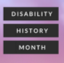 Go to the profile of SU Disability History Month