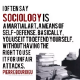 Go to the profile of SOCIOLOGICAL