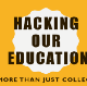 Hacking our education