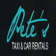 Go to the profile of Pete's Taxi and Car Renta