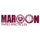 Maroon Tinted Spectacles