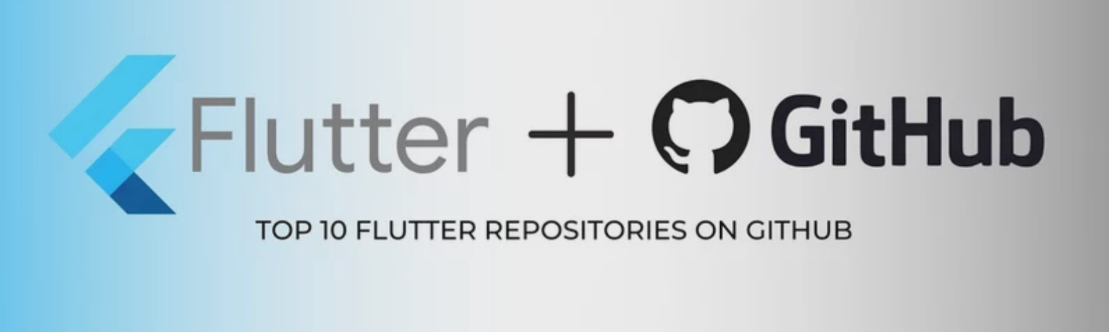 Top 10 Flutter Repositories on GitHub