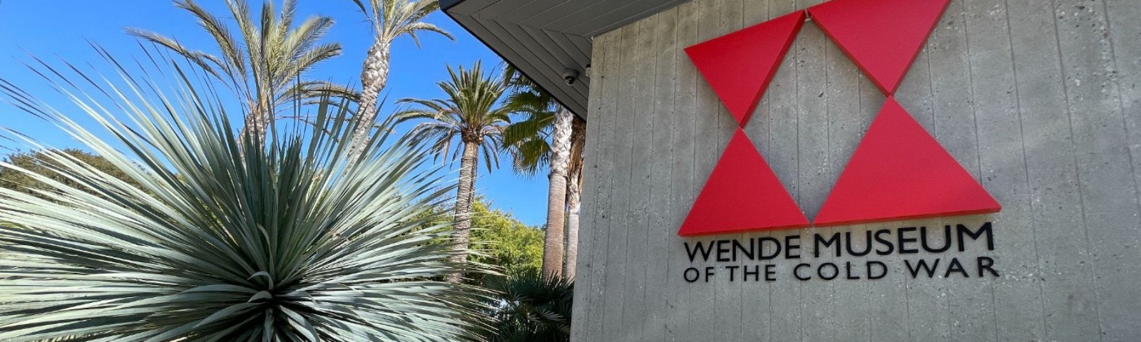A photo of the outside of the The Wende Museum of the Cold War in Culver City, California