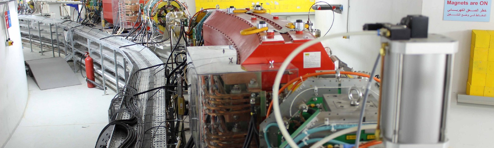 The SESAME particle accelerator in Jordan opened on 16 May. Image credit: SESAME