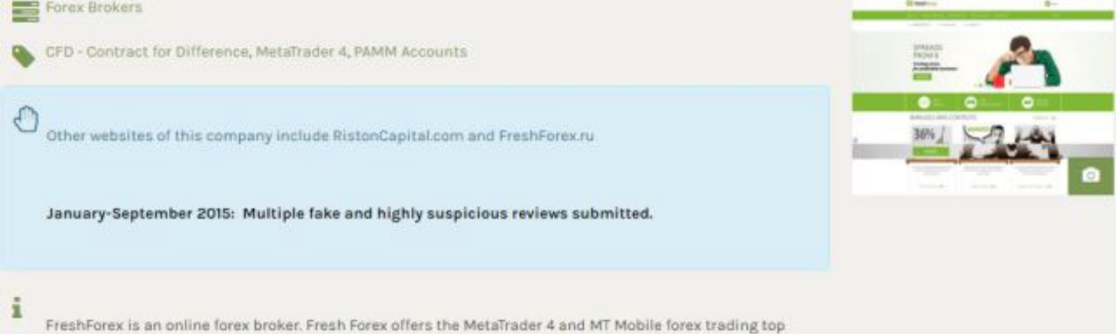 freshforex review
