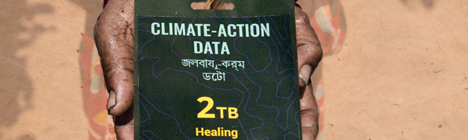 Climate action data packages Collection of the hypothetical data packages from this world exhibits their interpretation of th