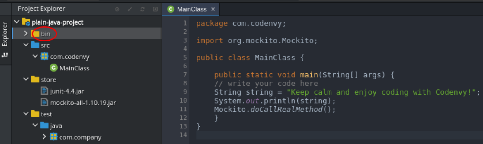 Hands-on: Configure & Run Plain Java Apps in Che - Eclipse