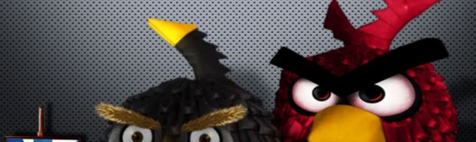 angry birds origami 3d