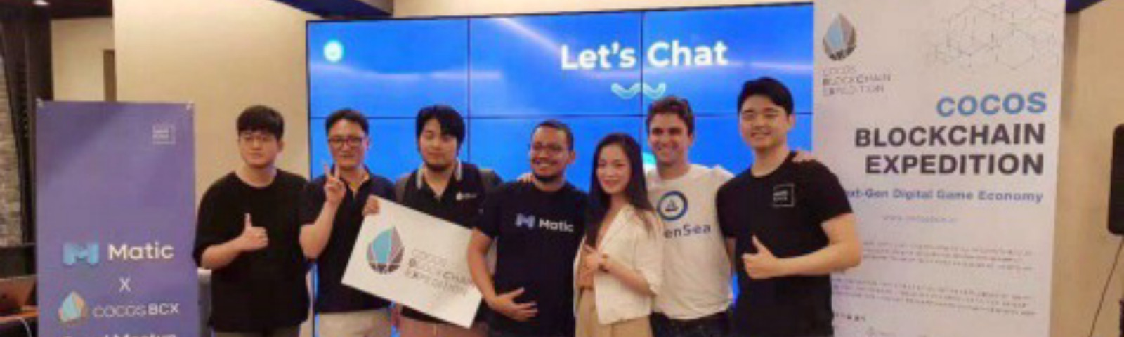 Matic at Seoul Meetup with Cocos blockchain expedition