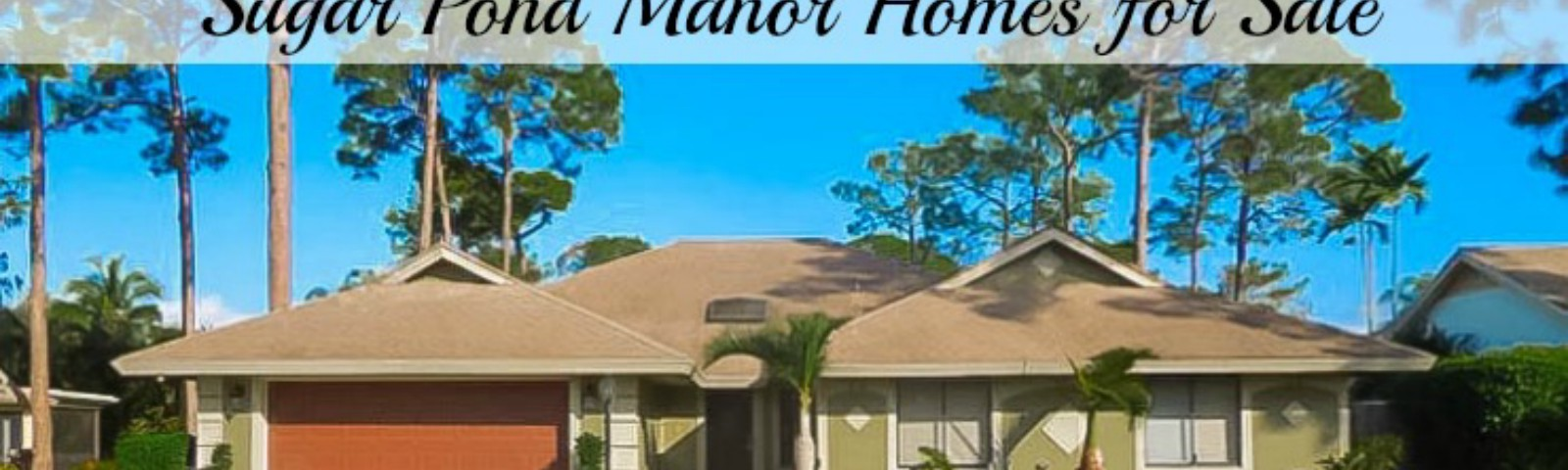 Sugar Pond Manor Homes for Sale in Wellington Florida 33414