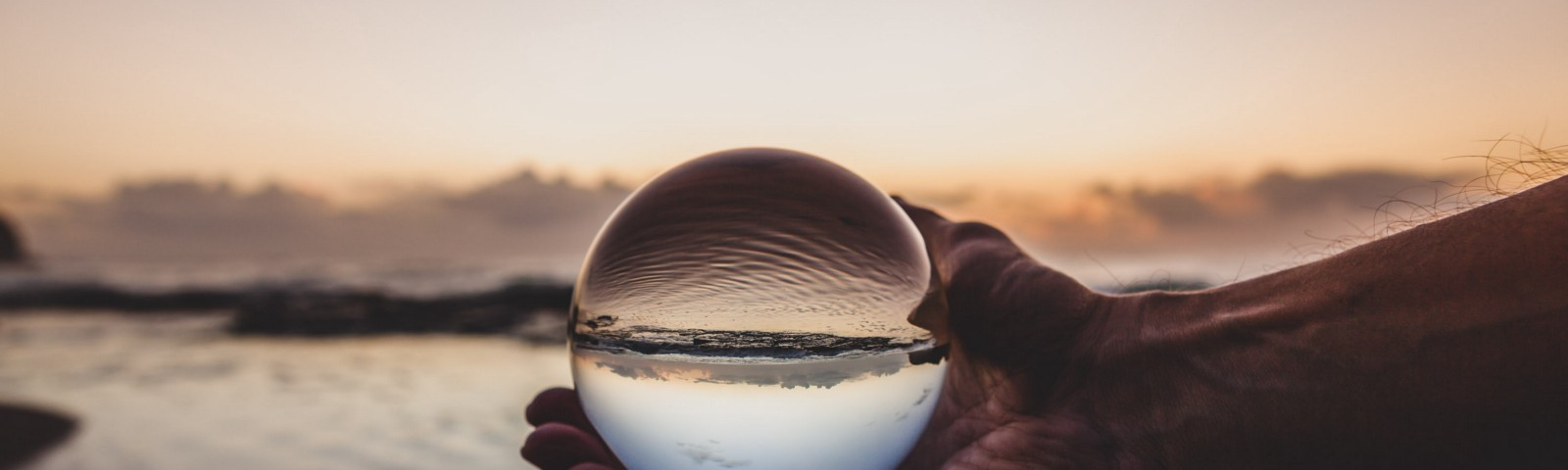 Photo by Photoholgic; photo of man holding crystal ball posted on James Goydos MD's article re prediction of COVID-19 outcomes