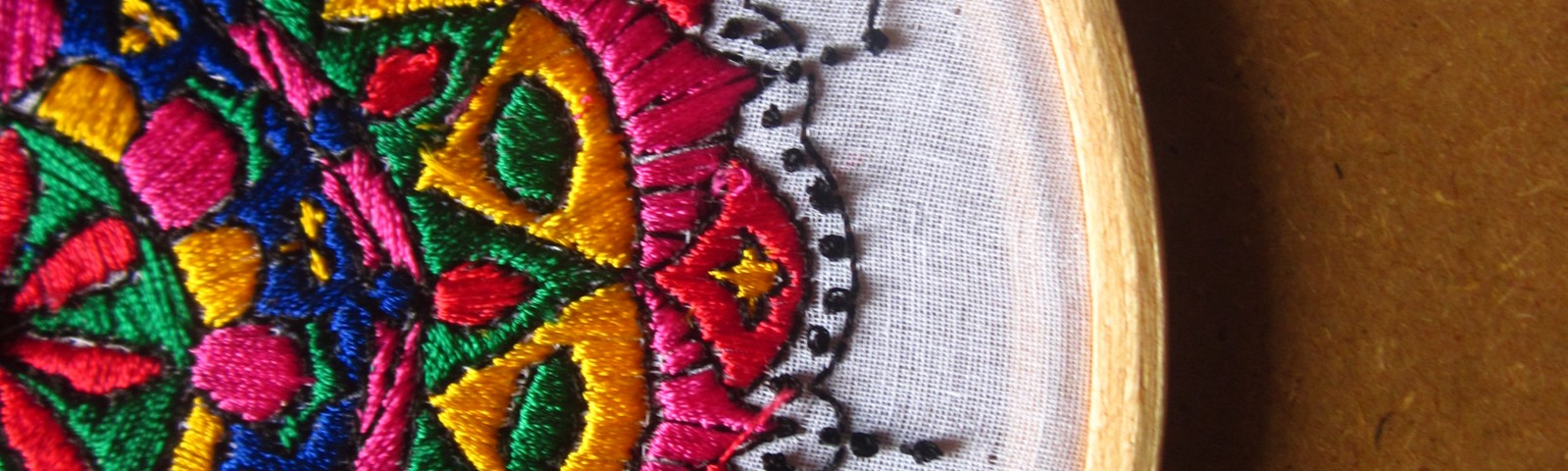 Embroidery a forgotten craft to increase eye hand coordination