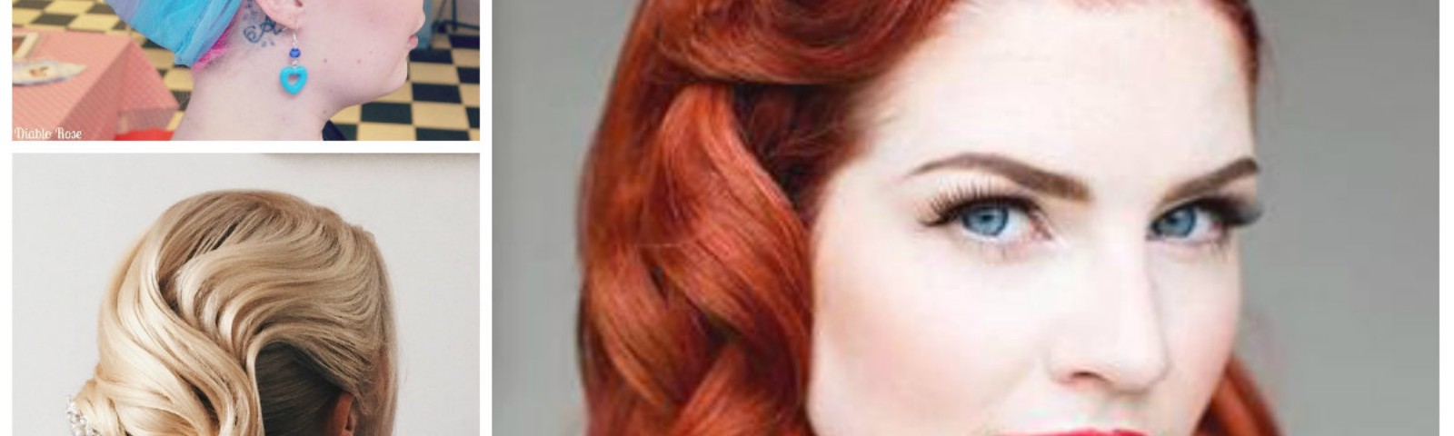 Chic Retro-und Vintage-Frisuren