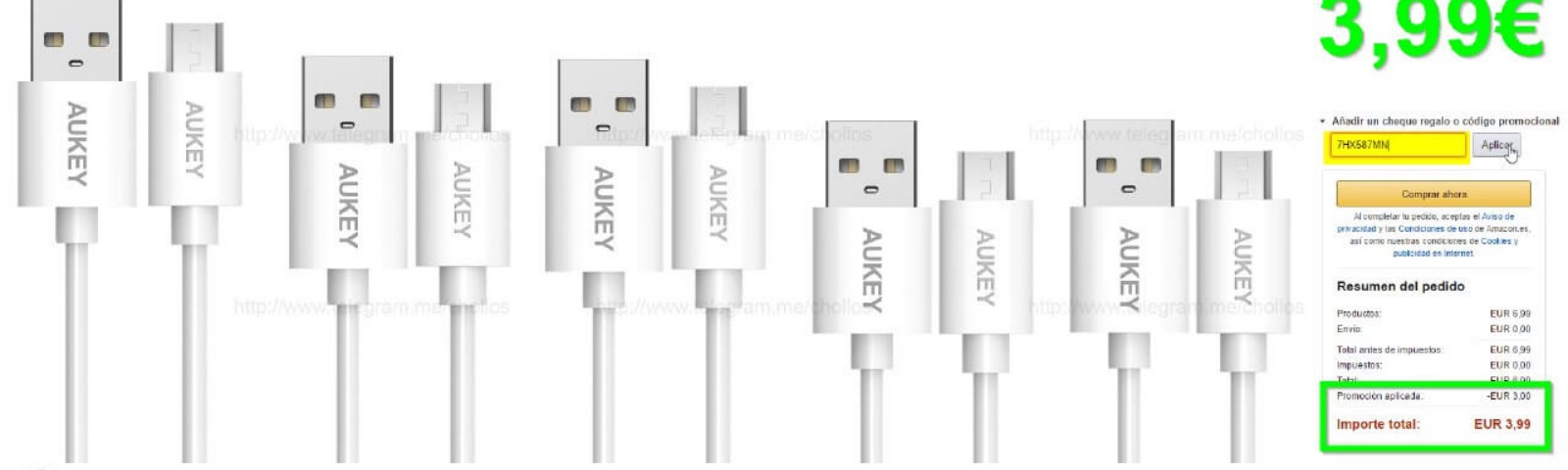 Cables Aukey