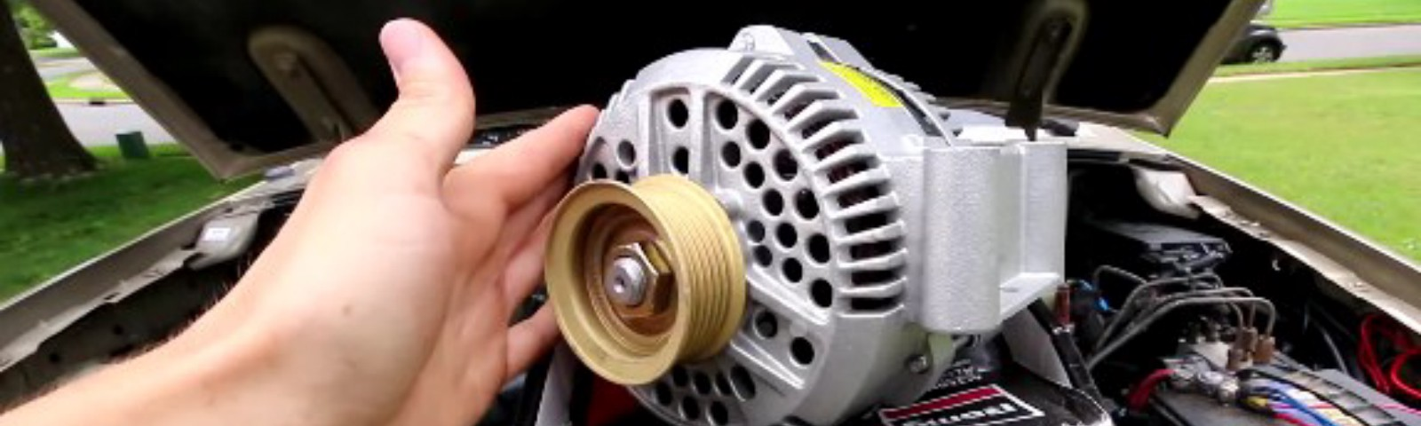replace an alternator
