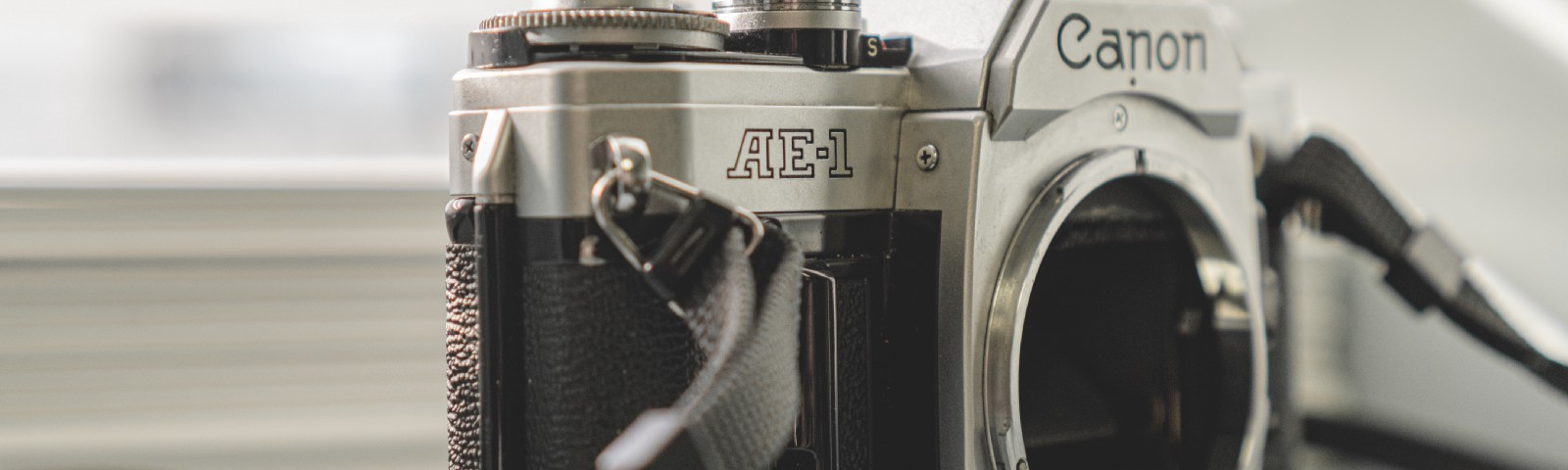An Old Film Camera. Getting Back to Basics