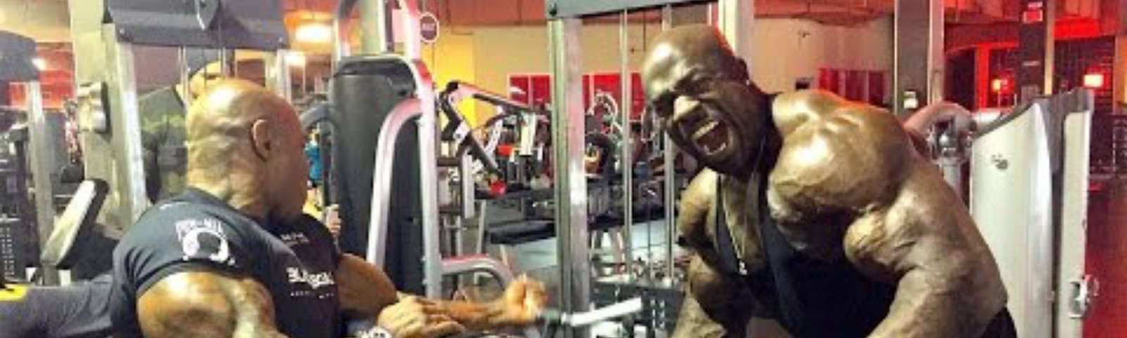 ARMS BIG AS FUCK - Kali Muscle & Flex Wheeler