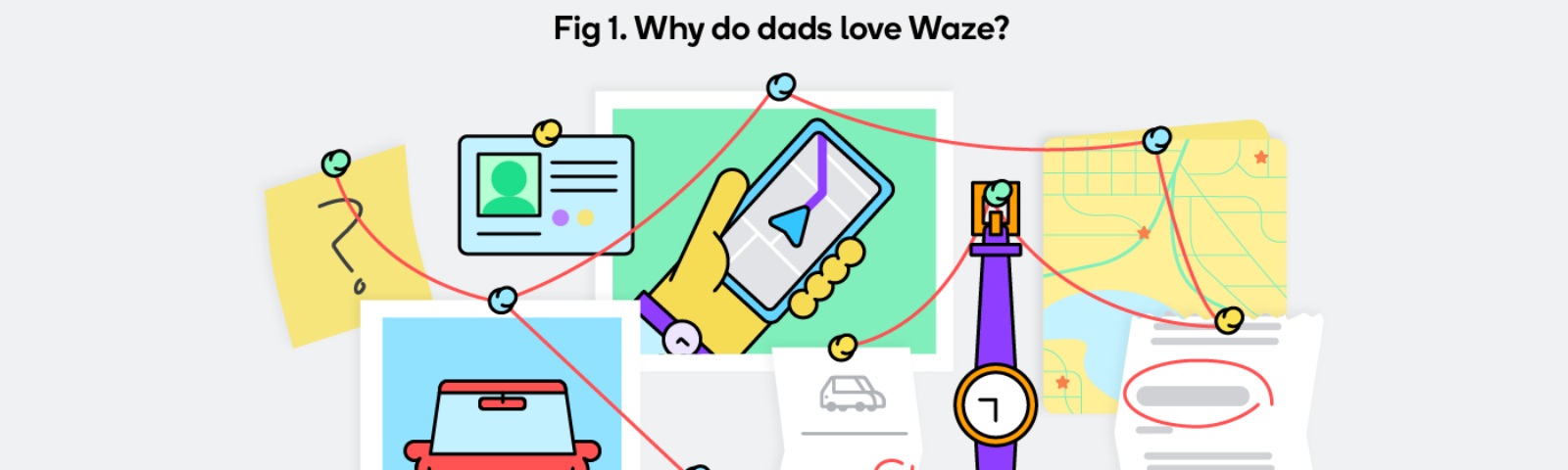 We did a formal investigation to find out why dads love Waze.