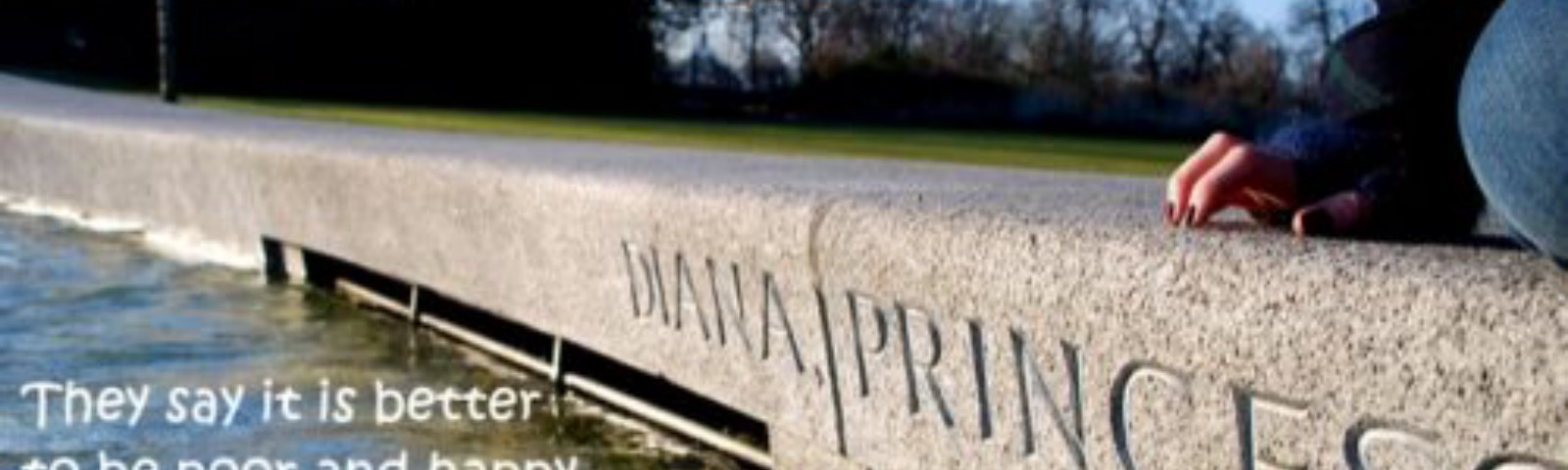 princess diana memorial photo and quote with attrib