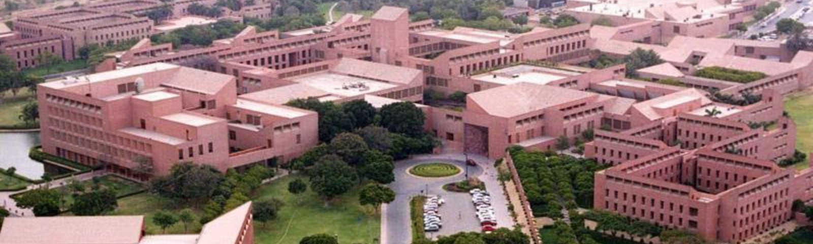 Partial view of the Aga Khan University Hospital