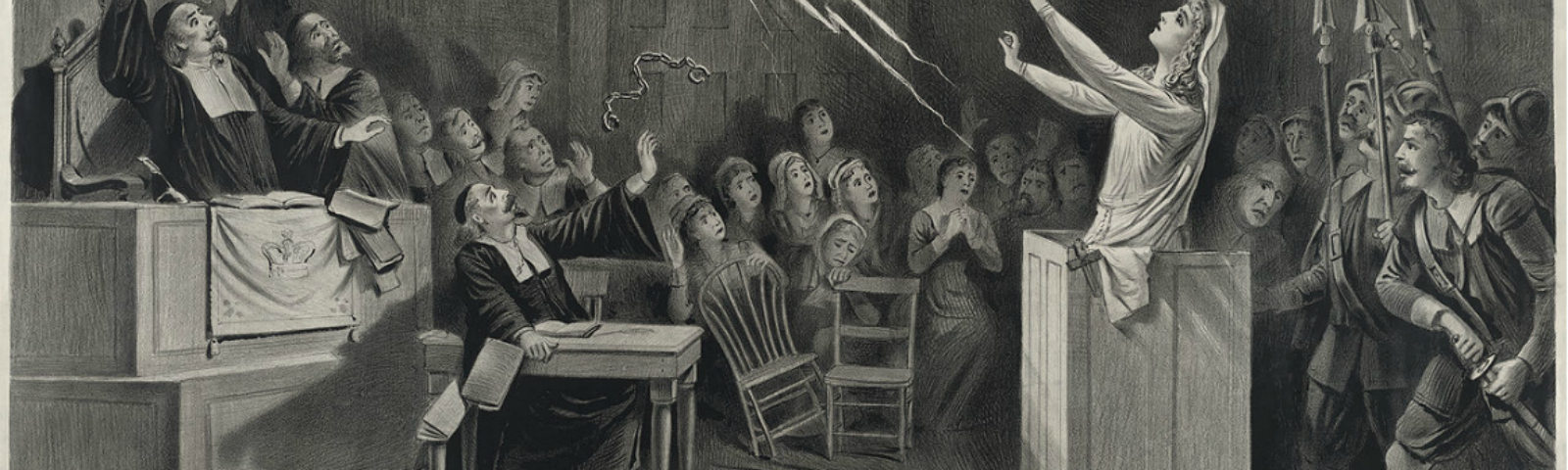 �was the salem witchcraft hysteria a product of women�s search for power?� The strains of moving from a puritan utopia to a royal colony further played out in the witchcraft hysteria that hit the coastal town of salem village (now the town of danvers, ma) in 1692.