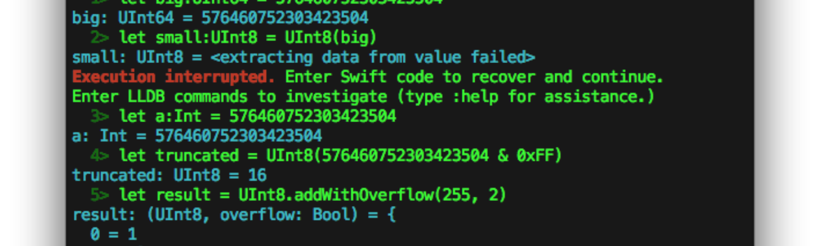 Swift Integer Overflow issue - iOS App Development - Medium