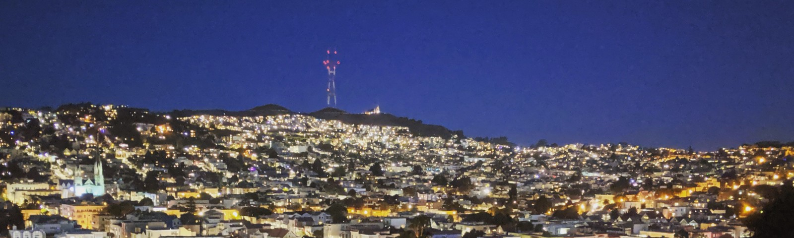San Francisco from Bernal Heights. Fifth year since I moved here and I finally feel that I can call this city my home.