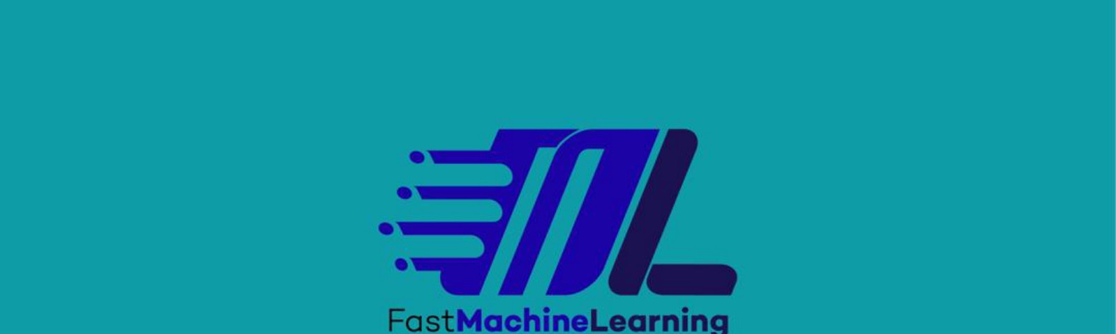 FastML logo portraying the concept of speed as associated with the FastML python Package
