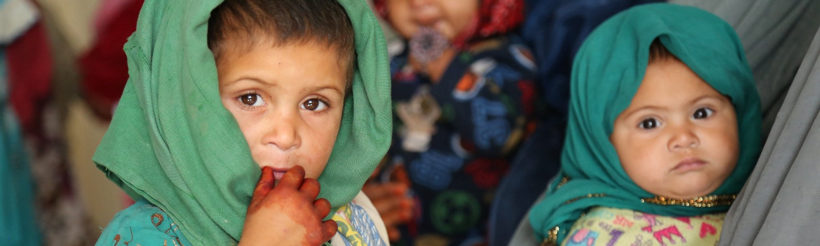 Children at a hospital in Afghanistan. Photo: © Ishaq Anis/Rumi Consultancy/World Bank