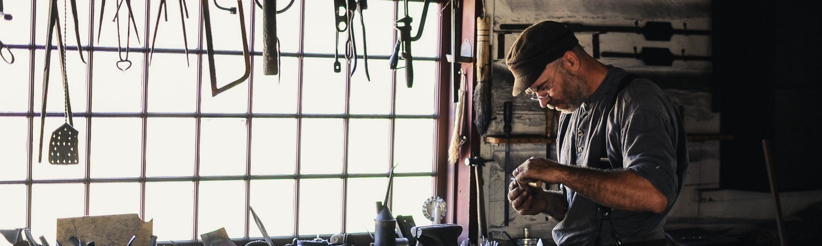 Busy Craftsman—Photo by Clark Young on Unsplash