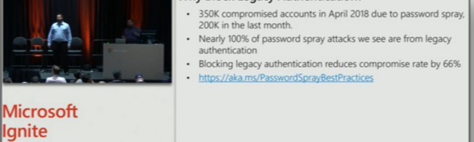Modern Authentication & Blocking Legacy authentication