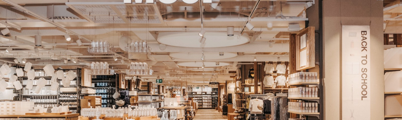 Image of a Muji store from the outside.