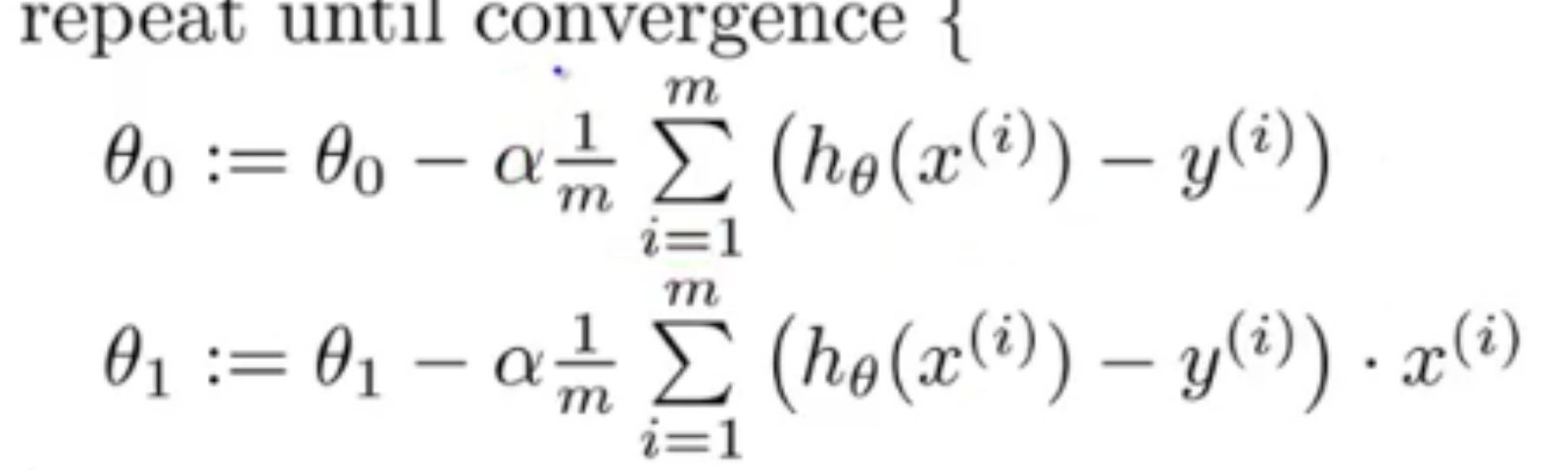 Machine Learning Week 1 Cost Function Gradient Descent And