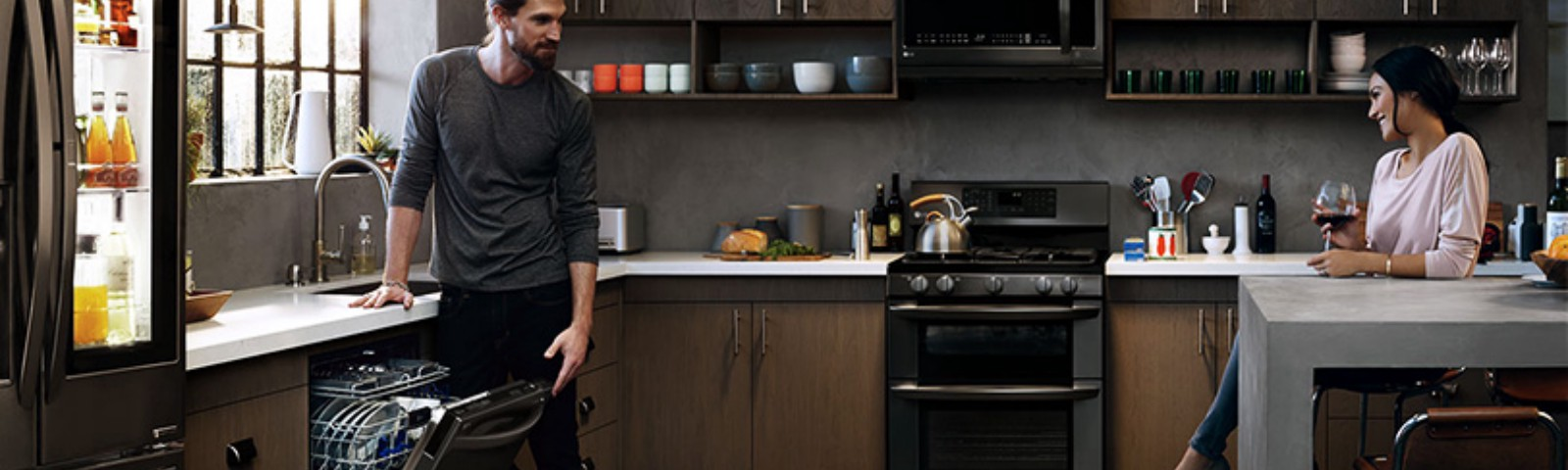 Tips For Matching Cabinets With Black Stainless Steel Appliances