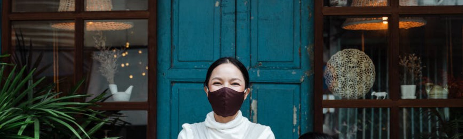 Face mask to reduce Covid -19 risk but can cause pollution.