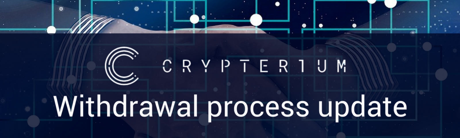 Crypterium token withdrawal update