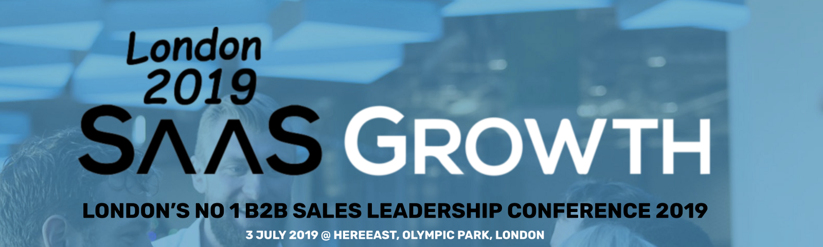 10 reasons why you need to be at SaaSGrowth 2019 - Sales