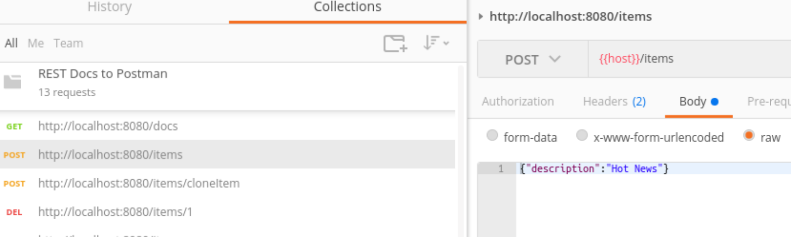 Create Postman collections out of tests - Florian Benz - Medium