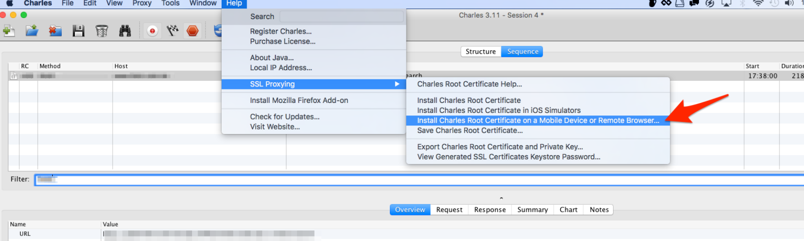 Android How To Use Charles On Mac Os X To Catch Android Packet