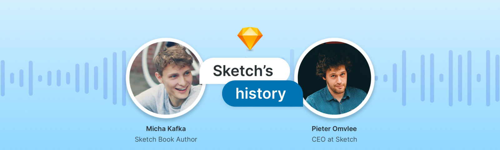 Micha Kafka, Sketch Book Author and Pieter Omvlee, CEO at Sketch talk about the tools history.