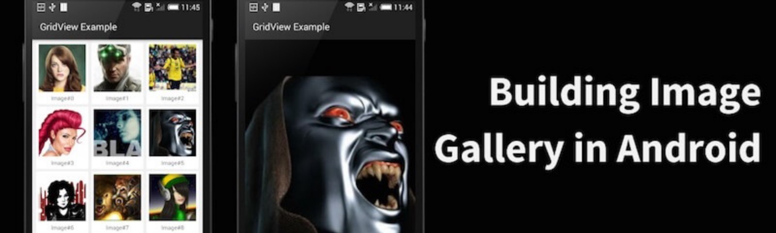 Custom Gallery For Android - AndroidPub