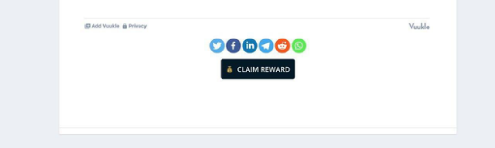 How to claim REWARDS on GCNews.io for reading